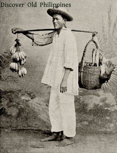 """""""A Native of Manila, Philippine Islands"""" Image publisher: A. S. Barnes & Co., N.Y., 1898"""