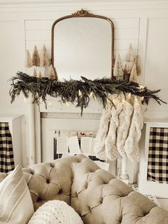 One Christmas Mantle