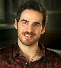 Colin in plaid.  One more thing I'll never see the same way again.