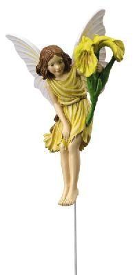 Iris Flower Fairy figurine by Fiebiger Floristik