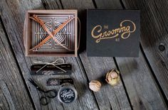 The #Grooming Set, by #HarvestBeard.