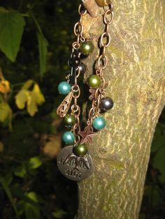 Charmed Journey Bracelet by TinyYellowKeyDesigns on Etsy, $28.00