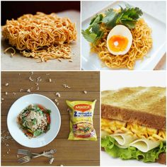 A life without Maggi noodles, is no life at all! If you& grown up on the good stuff, you& know what I& talking about. As much as people term it . Unique Spaghetti Recipe, Spaghetti Recipes, Maggi Recipes, Unique Recipes, Ethnic Recipes, Breakfast Recipes, Breakfast Ideas, Indian Snacks, Noodle Recipes