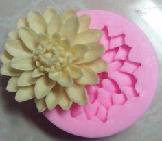 Mom&Pea 0145 Free Shipping Lotus Shaped Press Silicone Mold Sugar Paste 3D Fondant Cake Decoration 5.7*5.7*1.6cm on Aliexpress.com | Alibaba Group