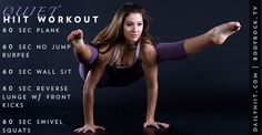 The Quiet HIIT Workout
