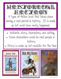Historical Fiction Poster