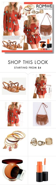 """""""Untitled #124"""" by mila96h ❤ liked on Polyvore featuring Balmain, Seed Design, Clinique, MAC Cosmetics and romwe"""