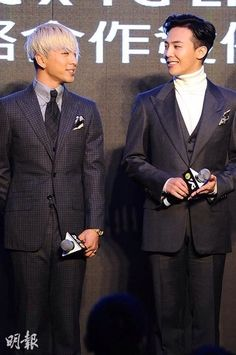 Taeyang and GD - they look like they've grown up! :D