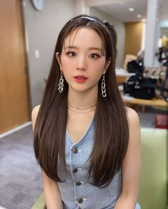 South Korean Girls, Korean Girl Groups, My Girl, Cool Girl, Pearl Earrings, Drop Earrings, Korean Beauty, Kpop Girls, Idol