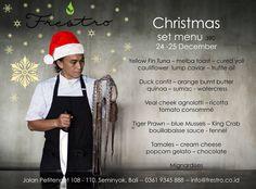 Frestro Festive Flavours Blue Mussel, Cheese Popcorn, Book Restaurant, Duck Confit, Truffle Oil, Christmas Settings, Mussels, Bali, Festive