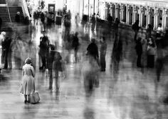 Waiting in Grand Central Station, New York City, 2003