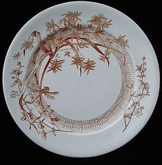 Aesthetic Brown Transfer Trio ~ DRAGONFLY 1885