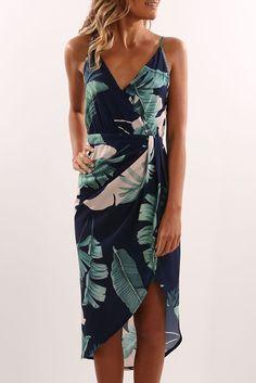 Verona Dress Navy Floral