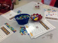 Lunch Bunch--Today I Feel BINGO game lesson