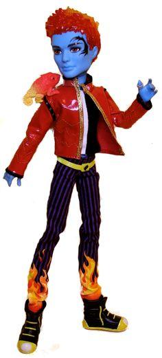 Pinterest Holt Hyde Basic Wave 2 School's Out Mattel Monster High doll. http://www.monsterhighcollector.com/viewstory.php?sid=77