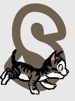 Oh my Alfabetos!: Alfabeto animado de gatito corriendo. dc
