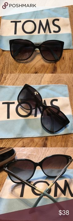 TOMS Sunglasses TOMS Women's Sunglasses. Gently used, case and cleaning cloth included. Case has some signs of wear. Sunglasses are in good condition. NO Trades. Toms Accessories Sunglasses