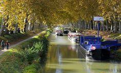 Promenade sur les berges du canal © CRT Midi-Pyrénées - P. Thébault #toulouse #visiteztoulouse