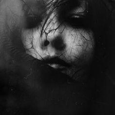 Bury me in black, 2015 - by Mirela Mirpi Pindjak (1978), Croatian