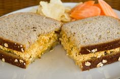 You're gonna love this vegan Eggless Egg Salad Sandwich. Think you never would like tofu? Think again because this recipe transforms tofu into egg salad!