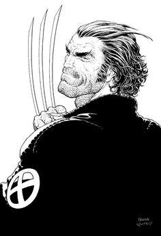spaceshiprocket:  Wolverine by Frank Quitely *