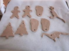 Baked ornaments