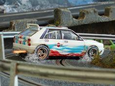 Lancia Delta Integrale (Scalextric) in my Slot Car Track #lancia #delta #italiancar #oldcar #slotcartrack #slot #hobby #scenary #slotcar #alotslot #scalextric #scx #ninco #carrera #slotit #msc #rally #rallycar #racing #race #dreamcar #wrc #gp #gt #f1 #wec #lemans #toyart #artwork #entrepreneur #diorama #scale132 #hobby #modelism #diecast #miniature #toy #modelcar #motor #motorsports #dreamcar #groupb #fire #exhaust #smoke #drift #drifting