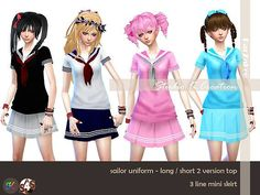 1000+ images about Sims 4 ropa on Pinterest | Sims 4, Sims and The ...