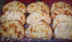 Zapečená sýrová veka | recept Russian Recipes, Ham, Shrimp, Sausage, Toast, Chicken, Ethnic Recipes, Food, Hams