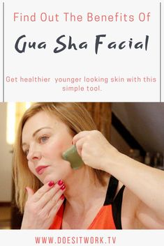 What is a Gua Sha Facial? Gua Sha helps improve the skin by reducing wrinkles, tightening skin and helps with lymphatic drainage too. Anti Aging Tips, Anti Aging Skin Care, Get Healthy, Healthy Skin, Technique Massage, Gua Sha Massage, Gua Sha Facial, Gua Sha Tools, Eyes Problems