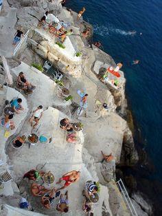 'Hole in the wall bar' Dubrovnik, Croatia.