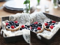 Vanilla Cream Pies with Summer Berries + Video  - Roost - Roost: A Simple Life
