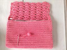 Pochette romantique au crochet Blog Crochet, Diy Crochet, Crochet Bags, Pochette Rose, Magic Circle, Couture, Hand Embroidery, Etsy, Women