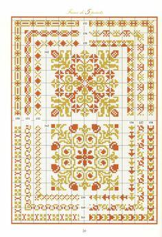 Répertoire des Frises - Dvoubarevné ornamenty a lemy - úžasné album