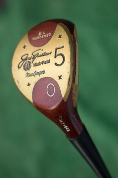 1e81d5c13e0 MacGregor vintage wooden Jack Nicklaus Muirfield 5 wood - used golf club