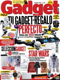 Revistas PDF En Español: Revista Gadget & PC España - Enero 2016 - PDF True...