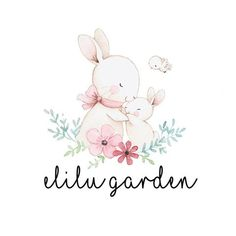 And I have a soul … – Baby Shower Ideas Watercolor Logo, Watercolor Animals, Bunny Art, Cute Bunny, Baby Painting, Painting & Drawing, Cute Animal Drawings, Cute Drawings, Kids Logo