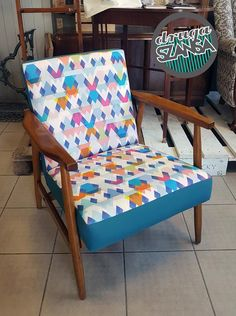 ARMCHAIR RENOVATION Furniture Redo, Accent Chairs, Armchair, House Design, Handmade, Diy, Home Decor, Upholstered Chairs, Sofa Chair