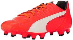 Puma Evospeed 3.4 LTH AG, Chaussures de Football Homme, Orange - Orange (Lava Blast-White-Total Eclipse 01), 40