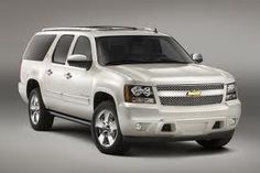 Chevy Suburban - I would get a cream pearl pale pink color.