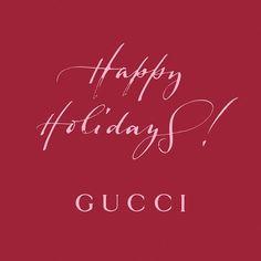 @gucci Celebrating the season.