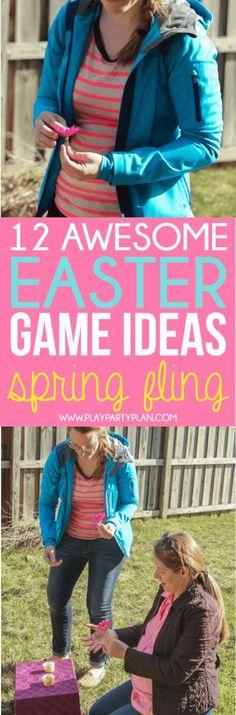 trendy easter games for kids diy egg hunt Easter Party Games, Easter Games For Kids, Adult Party Games, Adult Games, Kids Fun, Abc Games, Easter Ideas, Easter Crafts, Kids Girls