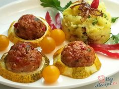 Španělské ptáčky s jasmínovou rýží Mozzarella, Baked Potato, Potatoes, Eggs, Snacks, Dishes, Baking, Breakfast, Ethnic Recipes