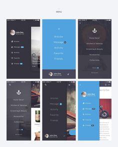 UI8 — Products — Kauf iOS UI Kit