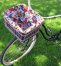 trike+bike+basket+cover | Basket Liner & Seat Covers