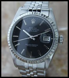 AUTHENTIC VINTAGE MENS SWISS ROLEX 1603 OYSTER DATEJUST