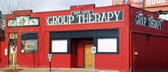 Group Therapy - best bar name ever LOL!