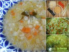 Receta de sopa de mijo con verduritas - La Cocina Alternativa