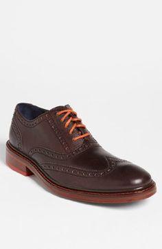 Cole Haan Men's Colton Winter Wing Oxford,Chestnut,13 M US $198.00 #ColeHaan #Shoes