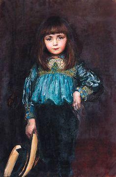 Portrait of a Girl Anna L Swynnerton.